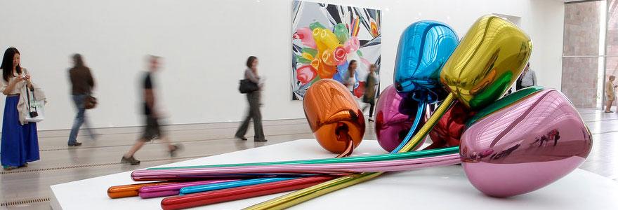 L'art contemporain,